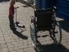 Boy vs. Wheelchair