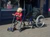 Boy vs Wheelchair 2